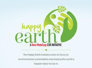 Hero Happy Earth Microsite