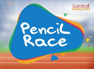 #PencilRace